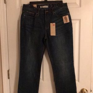 Ladies Levi's 525 perfect waist jeans..12m/31..NWT